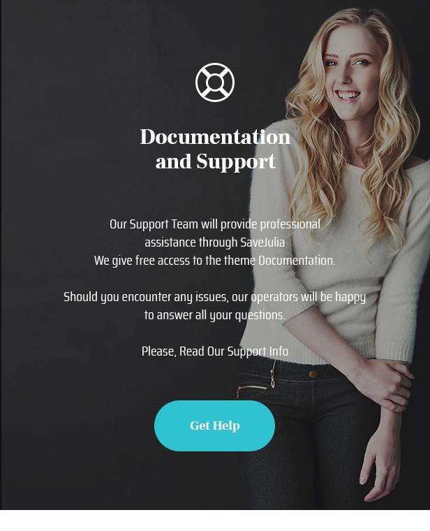 Save Julia - Donation & Fundraising Charity WordPress Theme