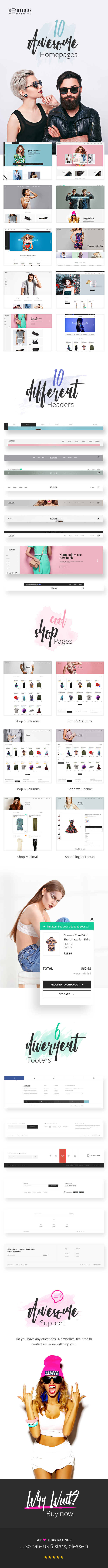 Boutique – eCommerce PSD Template - 1