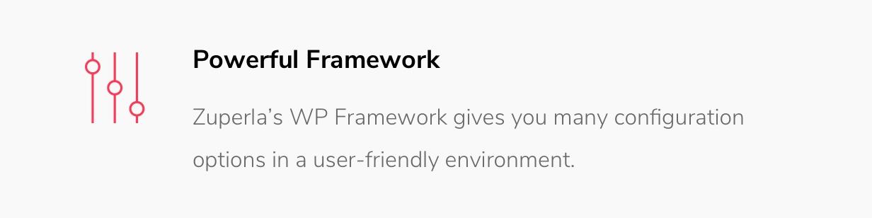 Zuperla Framework