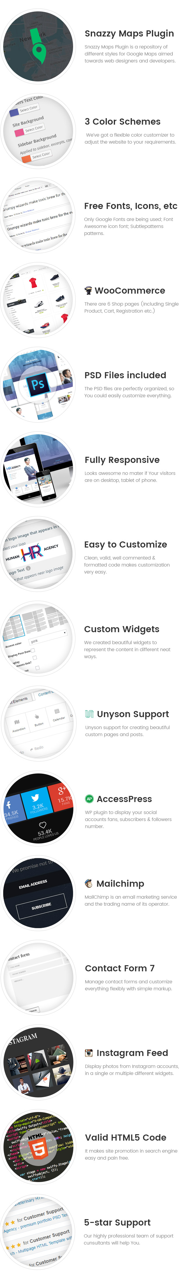 Human Agency - Human Resources WordPress theme