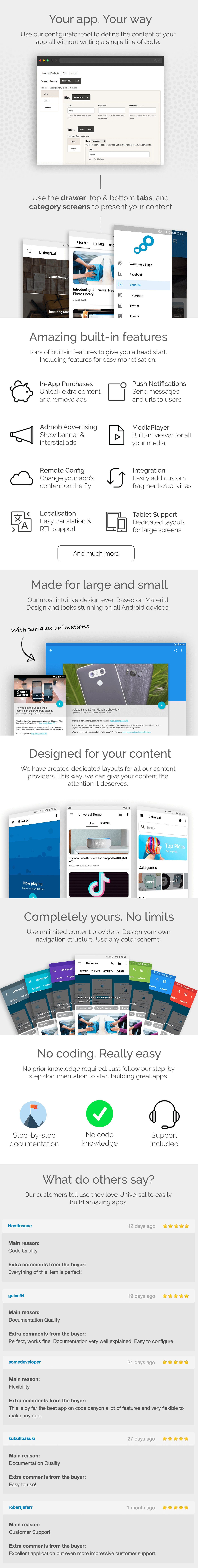 Universal - Full Multi-Purpose Android App - 12