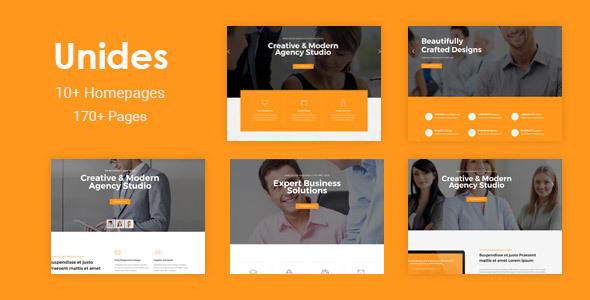 Unides - Responsive MultiPurpose Drupal 8 Theme