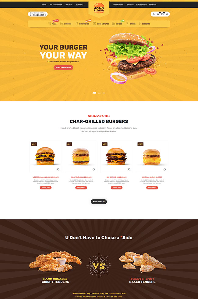 Lafka - WooCommerce Theme for Burger & Pizza Delivery - 8