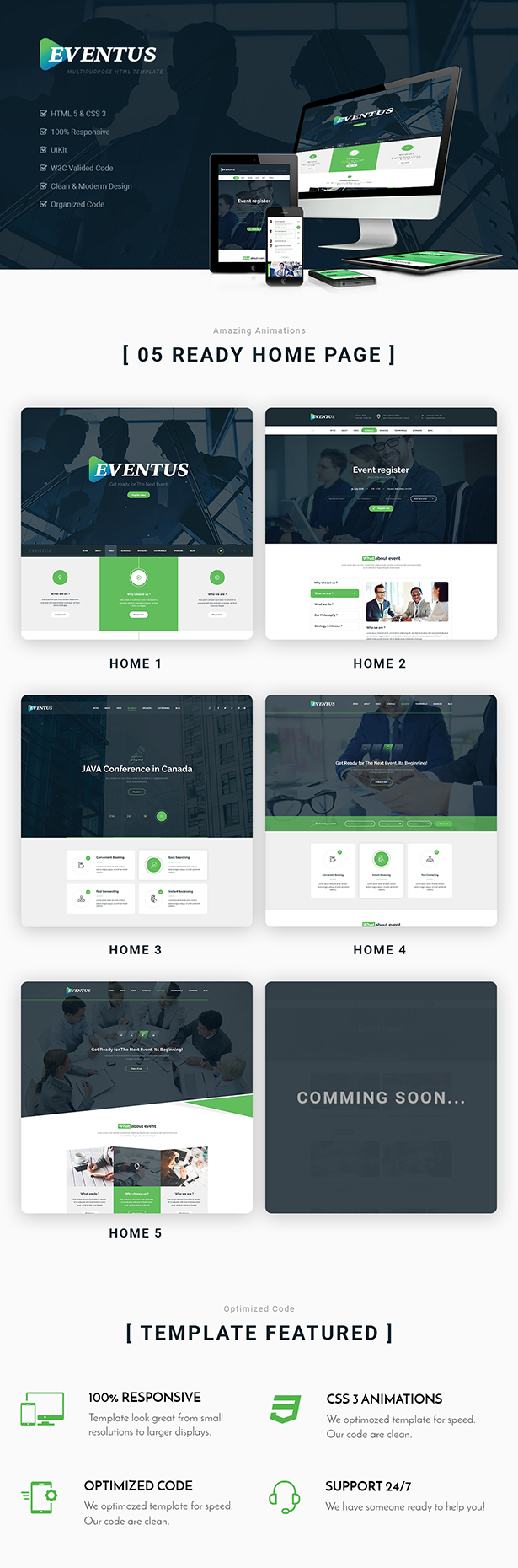 Eventus - HTML Template
