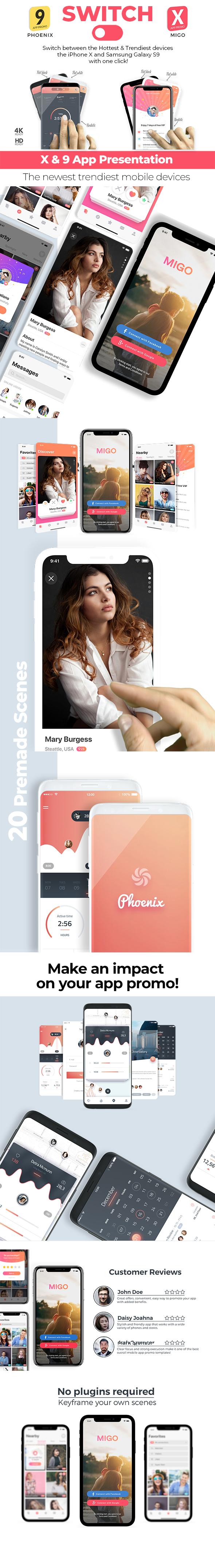 Switch: phoneX & s9 App Promo - 5