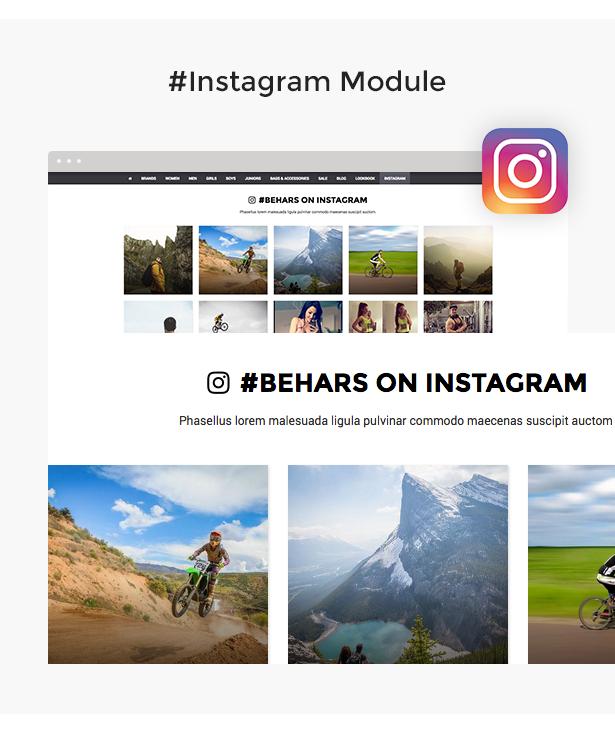 Behars - Responsive 3dCart Theme Features