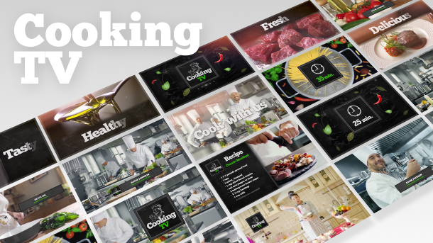 Cooking TV Show Pack 4K - 2