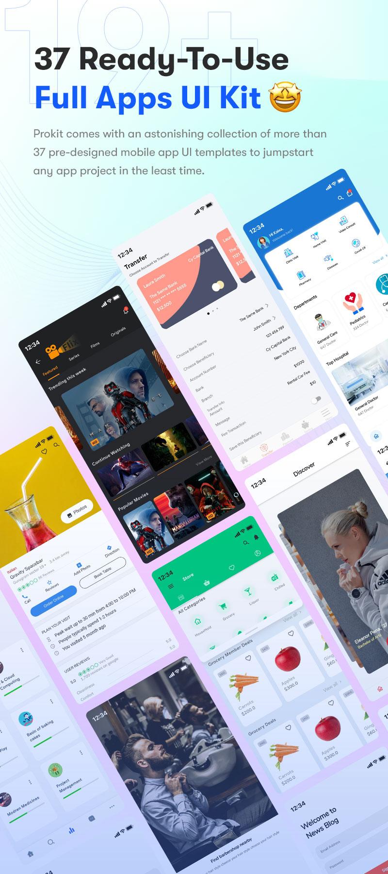 ProKit - Best Selling Flutter UI Kit - 3