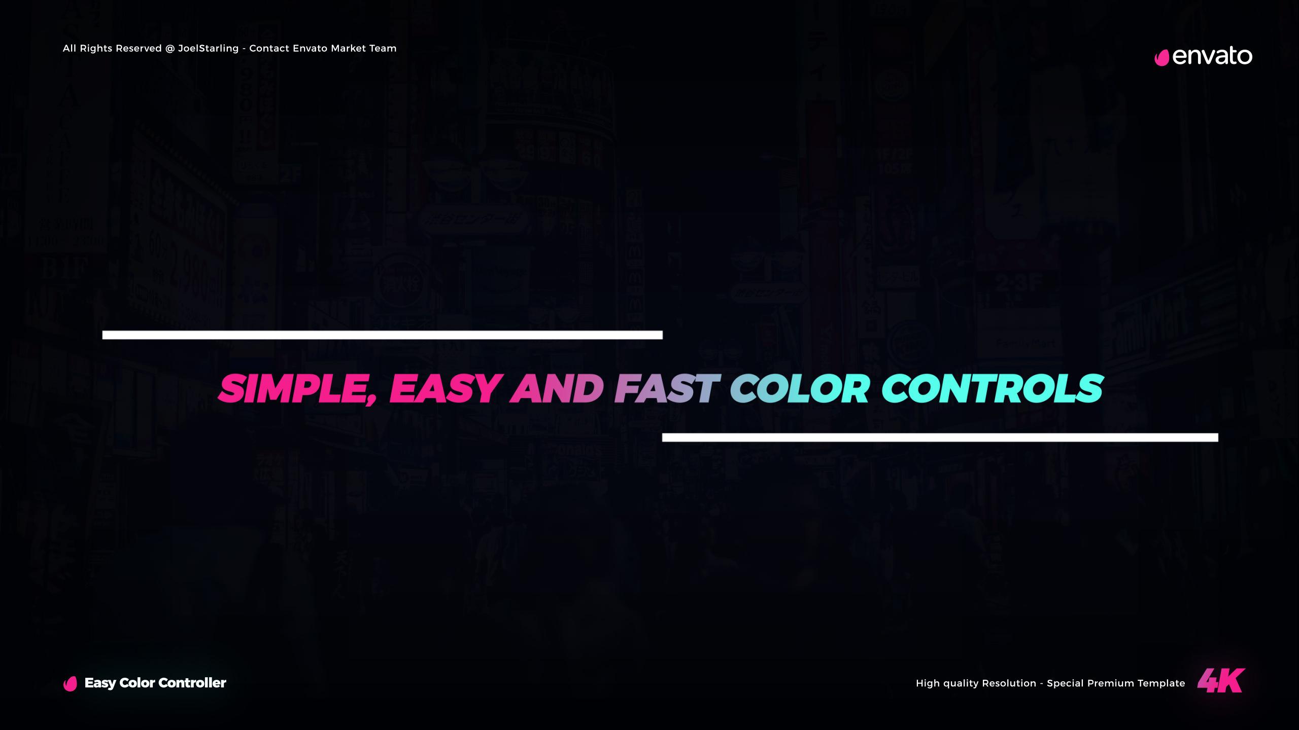 Neon Lights Titles for Final Cut Pro X - 13