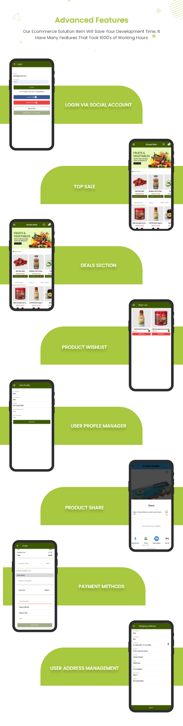 Ecommerce Solution with Delivery App For Grocery, Food, Pharmacy, Any Store / Laravel + Android Apps - 41