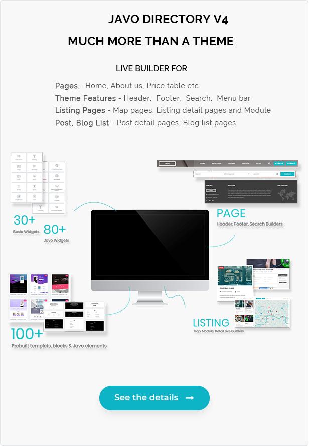 Javo Directory WordPress Theme - 4