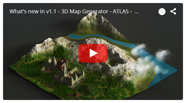 3D Map Generator - Atlas - From Heightmap to real 3D map - 8