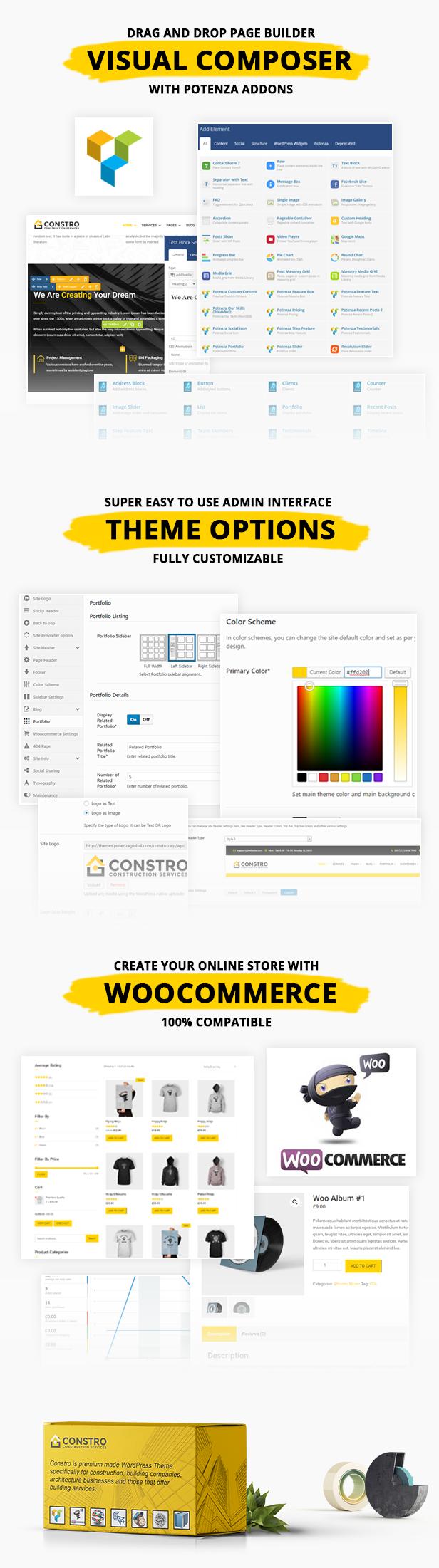 Constro - Construction Business WordPress Theme - 3