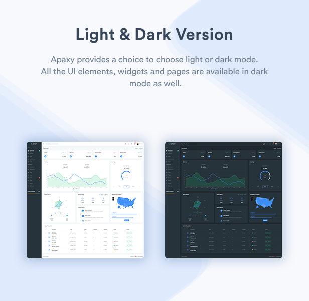 Apaxy - Admin & Dashboard Template - 2