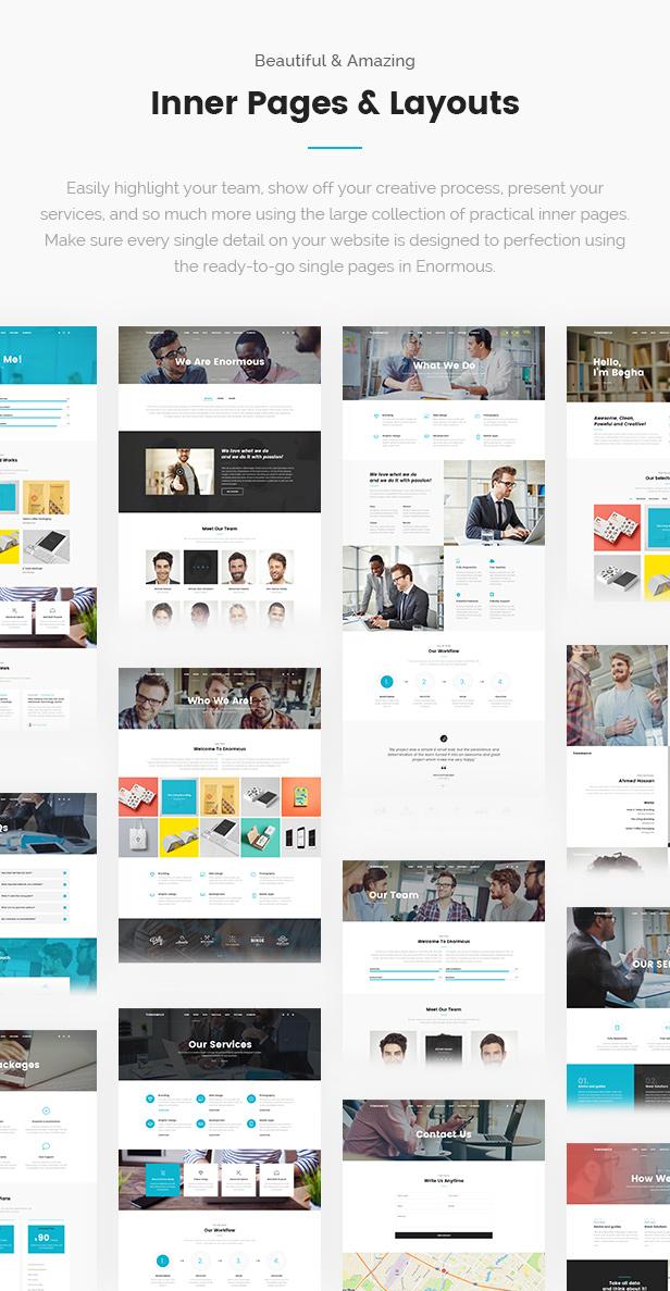 Enormous Business - Responsive Multi-Purpose WordPress Theme - 11