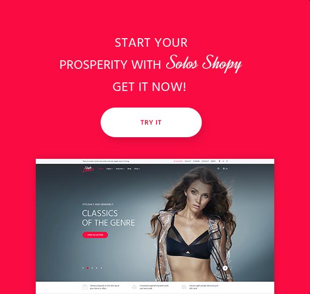 SolosShopy - Fashion Shop Elementor WooCommerce Theme - 14