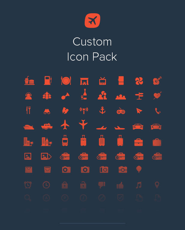 Travelo Icon Pack