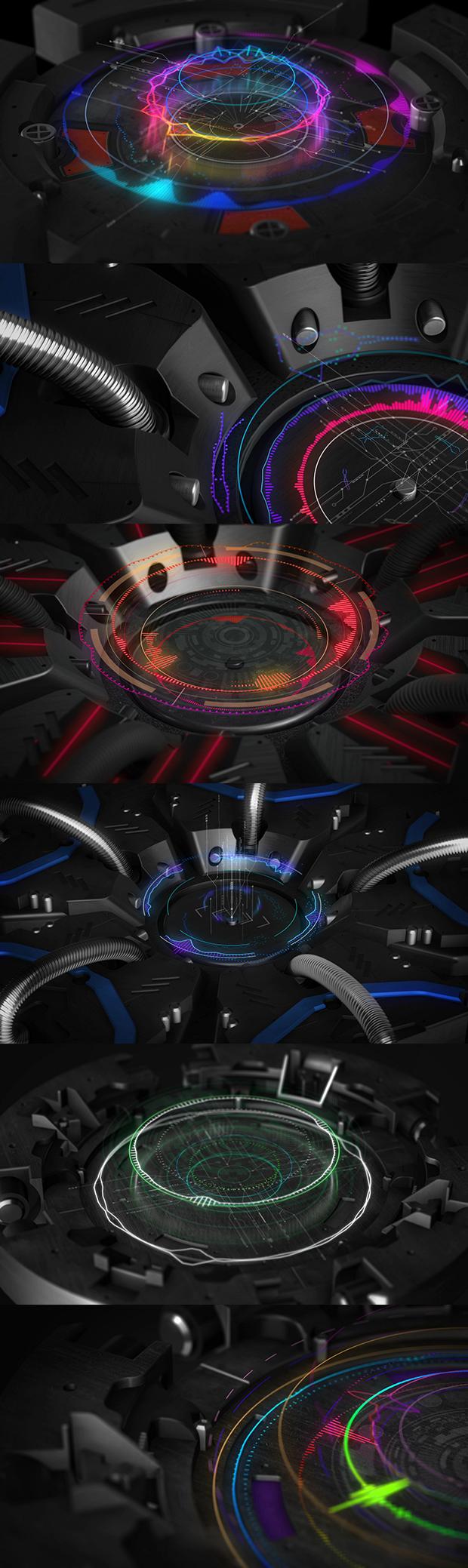 3D Music Visualizer - 3