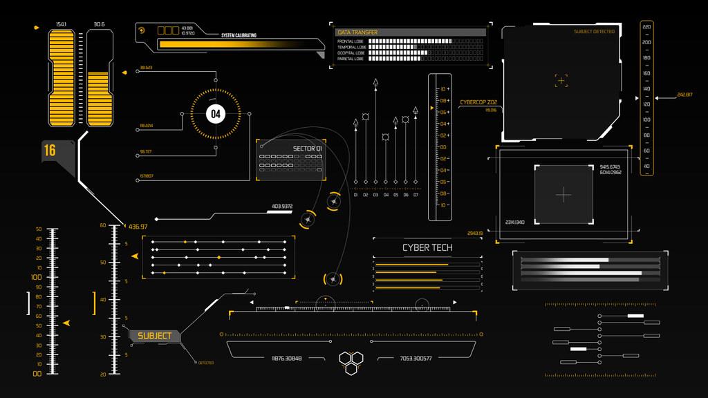 HUD Infographic Elements - 2