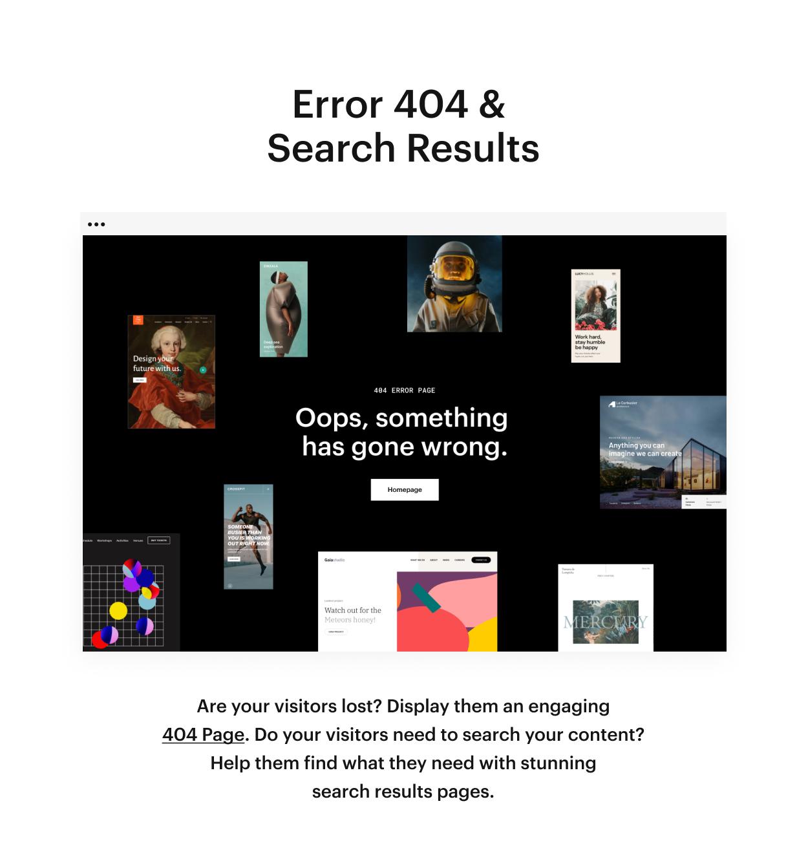 Kaon WordPress Theme - Erorr 404