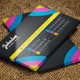 Flat Business Card V-02 - 71