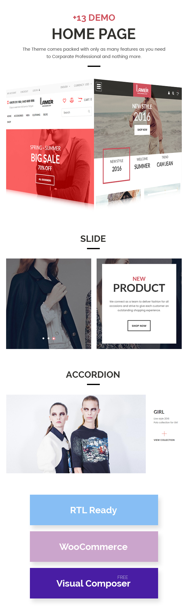 Lamer Fashion - WooCommerce WordPress Theme - 4