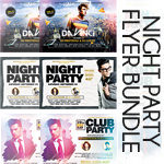 Night Club Flyer Bundle - 2