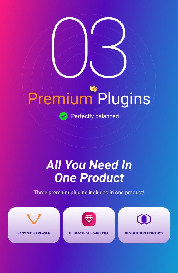 Ultimate 3D Carousel WordPress Plugin by FWDesign | CodeCanyon