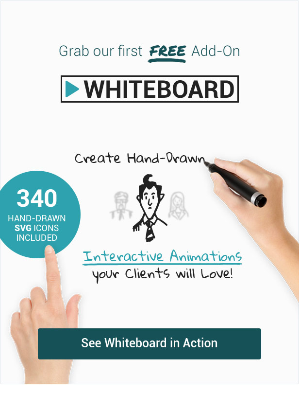 Whiteboard Addon