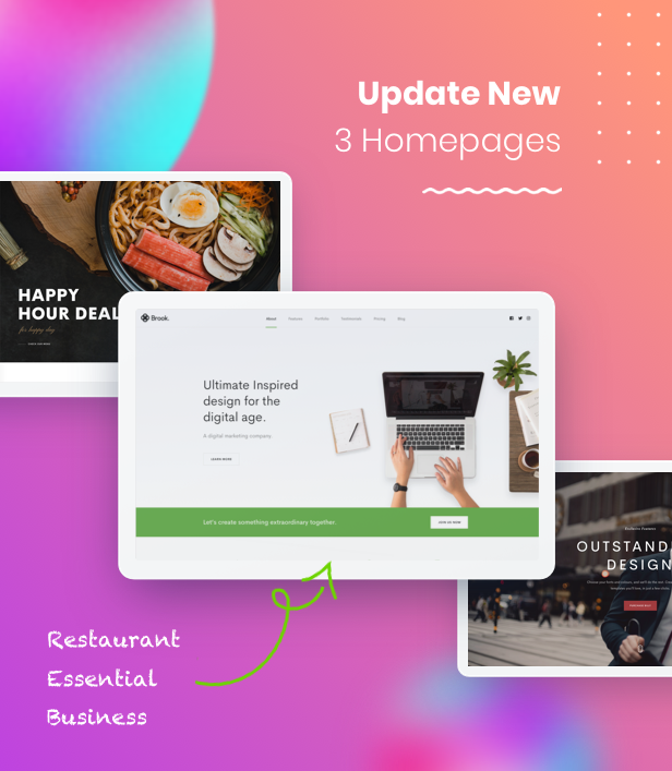 Brook - Agency Business Creative WordPress Theme - 19
