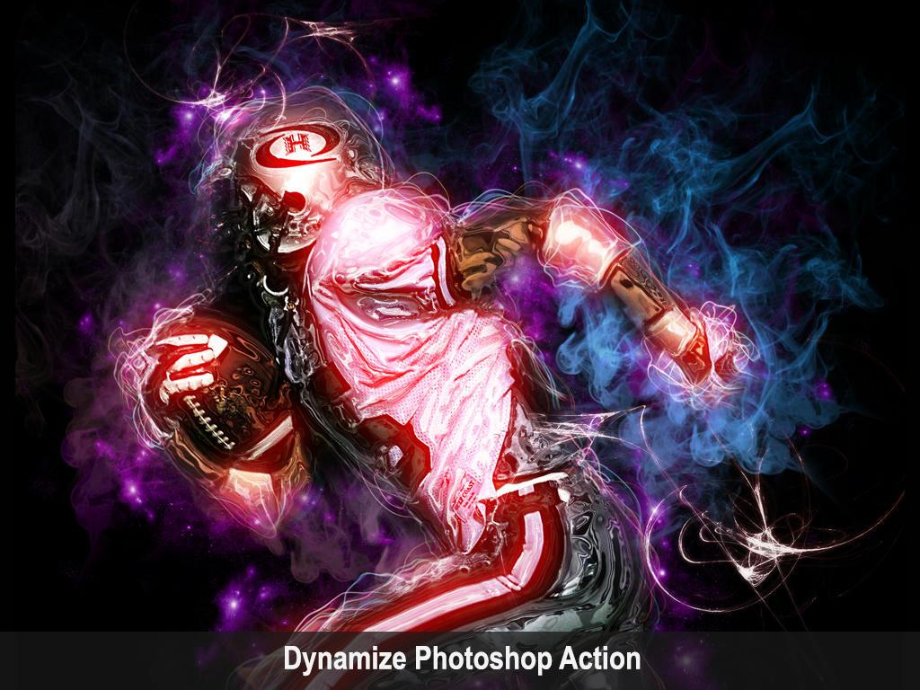 Dynamize Photoshop Action