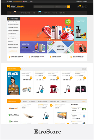 EtroStore - Responsive & Multi-Purpose HTML5 Template