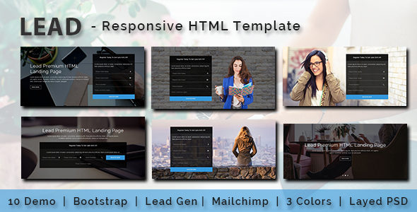 Health - Multipurpose Responsive HTML Landing Pages - 1