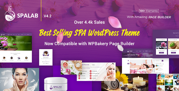 Spa Lab WordPress Theme