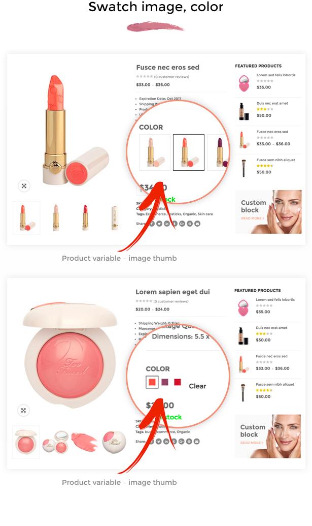 SNS Vicky - Cosmetic WooCommerce WordPress Theme - 9