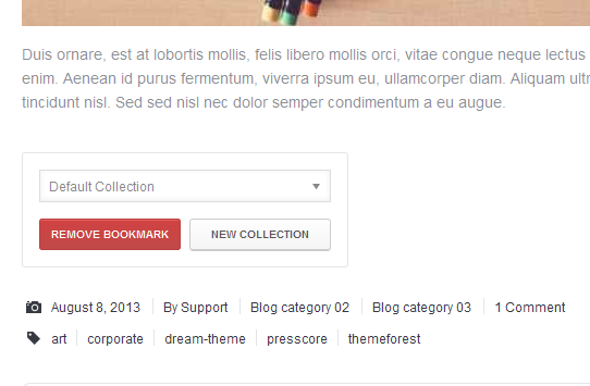 WordPress User Bookmarks for UserPro - 6