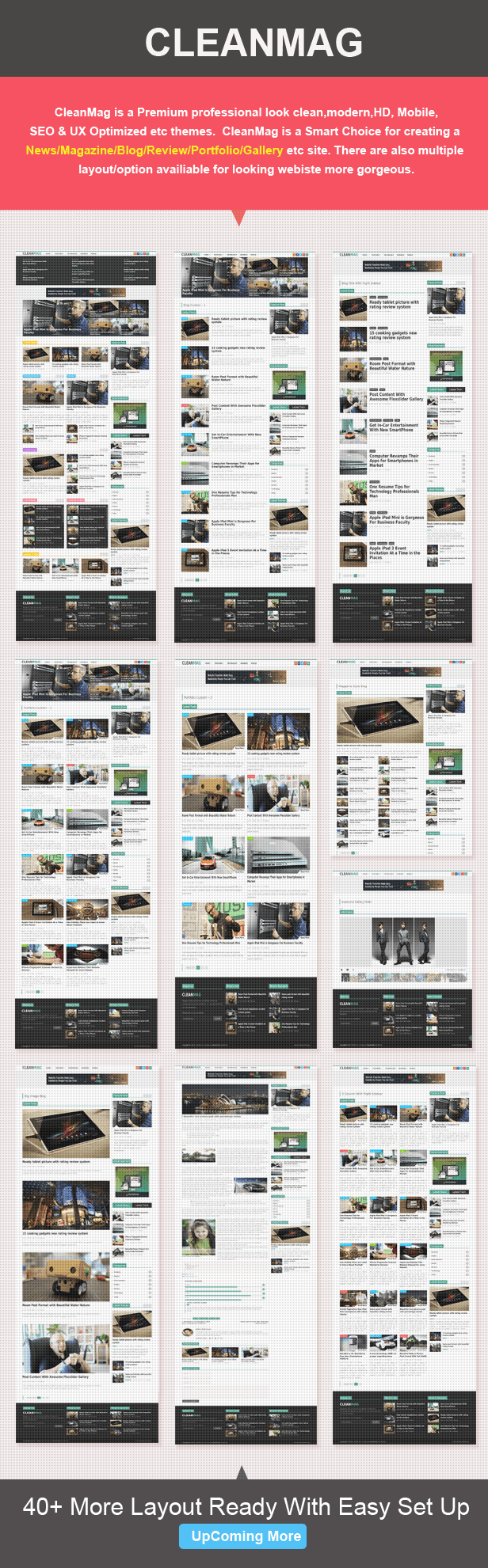 magazine blog layouts
