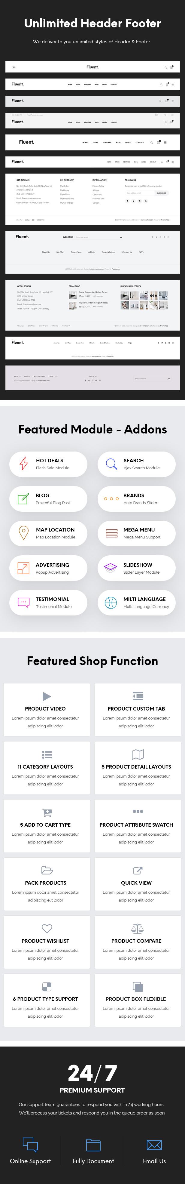 JMS Fluent - WordPress Theme