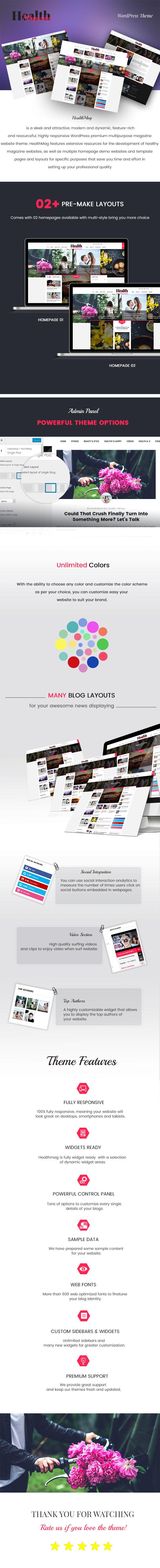 HealthMag - Multipurpose News/Magazine WordPress Theme - 1