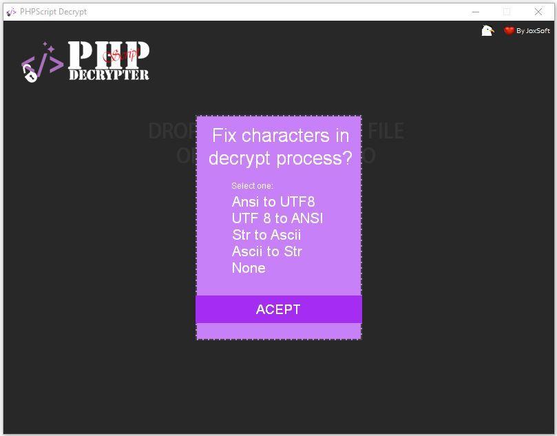 IONCUBE Decoder - PHPScript Decrypter Pro - 4