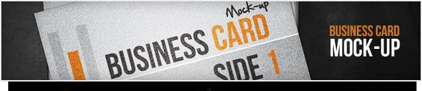 Reflection Business Card Mockup - 1
