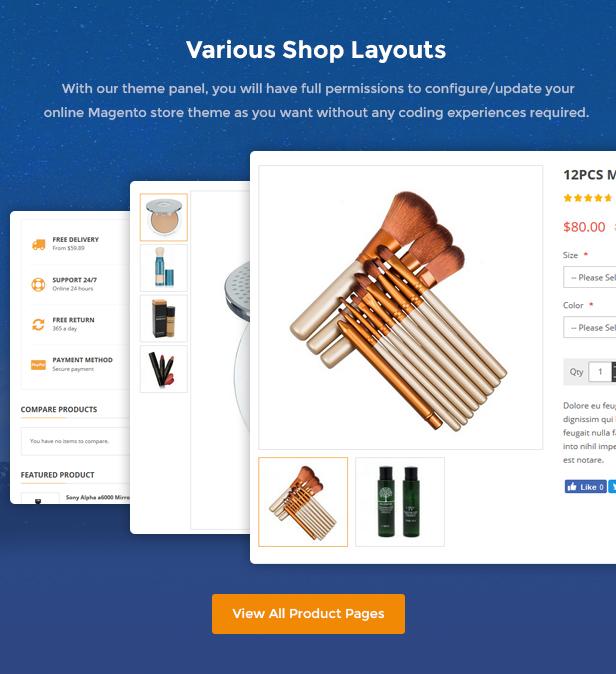 Market - Premium Responsive Magento 2 & 1.9 Store Theme - Shop Details