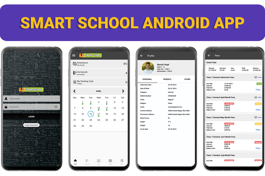 Smart School : School Management System - 1