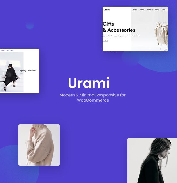 Urami WP - Modern minimalist WooCommerce theme - 3