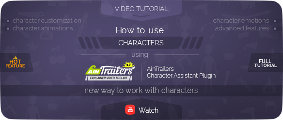 AinTrailers | Explainer Video Toolkit with Character Animation Builder - 97