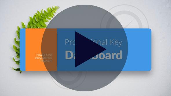 Key Dashboard PowerPoint Presentation Template - 1