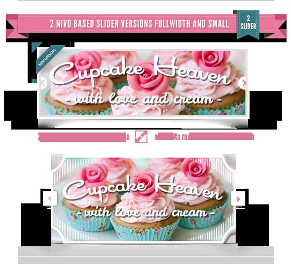 Delimondo Cupcakeheaven Fully Responsive HTML - 9