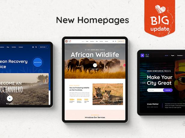 BigHearts - Charity & Donation WordPress Theme - 1