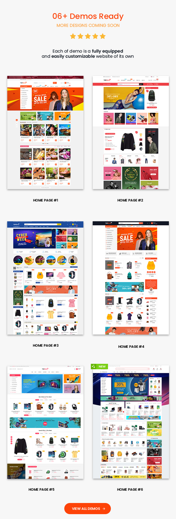 TopDeal - Top Trending Multi Vendor Marketplace WordPress Theme