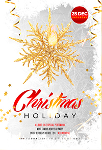 Christmas Holiday Flyer V3 - 9